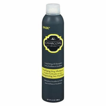 Hask Purifying Dry Shampoo Charcoal 6.5 oz.(pack of 4)