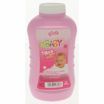 Odolex Pink Baby Powder 300g - Talco de Bebe Rosa (Pack of 4)
