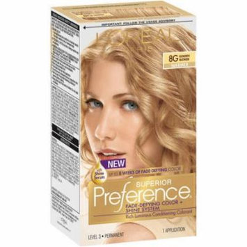 L'Oreal Paris Superior Preference Permanent Hair Color, Golden Blonde 8G 1.0 ea(pack of 1)