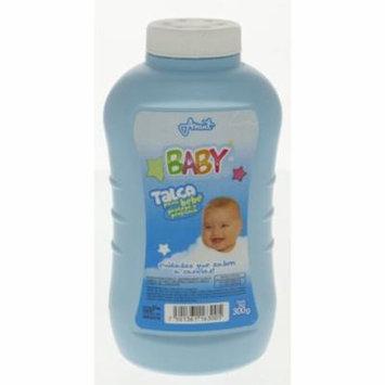 Odolex Blue Baby Powder 300g - Talco de Bebe Azul (Pack of 6)