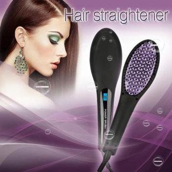 Besmall Professional Hair Straightening Brush Hair Straightener Instant Magic Silky Straight Hair Styler