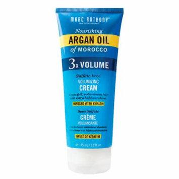 Marc Anthony True Professional Nourishing Argan Oil of Morocco 3X Volume Cream 5.9 fl oz(pack of 6)