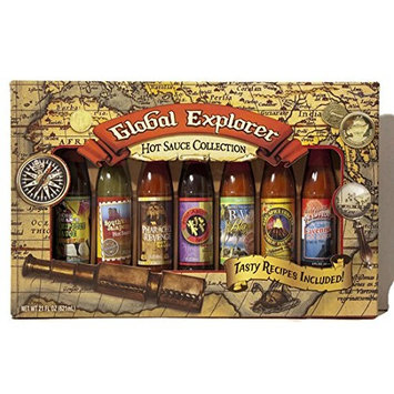 Global Hot Sauce Collection Gift Set by