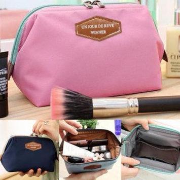 Big Clearance! Travel Makeup bag Cosmetic pouch Clutch Handbag Casual Purse AMZSE