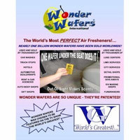 Super Wonder Wafers 144 CT Individually Wrapped Air Fresheners BABY POWDER