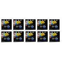 Bump Fighter Refill Cartridge Blades for Men - 5 ea. (Pack of 10) + Schick Slim Twin ST for Dry Skin
