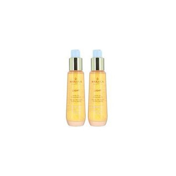 Set 2, Marula Pure Beauty Oil, Light Hair Treatment & Styling, 1.69 oz/50ml Each, Instant Repair & Shine