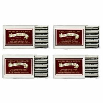 Colonel Ichabod Conk Trac II Razor Blades 10 ct. (Pack of 4) + Schick Slim Twin ST for Dry Skin