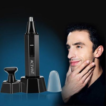 Professional Waterproof Heavy Duty Stainless Steel Nose Hair Trimmer with LED light HITC