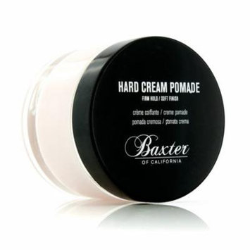 Hard Cream Pomade (Firm Hold/Soft Finish)-60ml/2oz