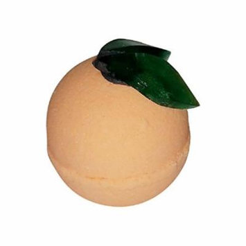 Orange Sherbet Scented Foaming and Fizzing Bath Bomb By Diva Stuff