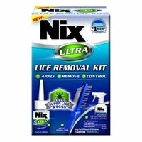 Nix Ultra Lice Removal Kit, Kills Super Lice, 1 Ea