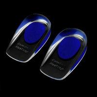 New Arrival 1 Pair Soft Silicone Shoe Foot Heel Cushion Half Insole Pads Foot Care pedicure plantillas para los pies pedicura Worldwide sale