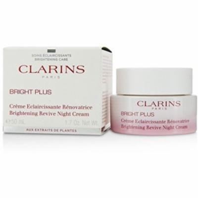 Clarins Bright Plus Brightening Revive Night Cream 1.7 oz