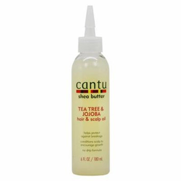 Cantu Shea Butter Tea Tree & Jojoba Hair & Scalp Oil 6 fl. oz. Bottle