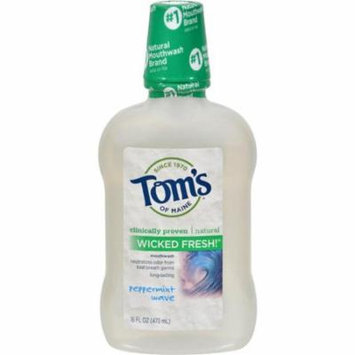 Toms of Maine HG0264705 16 oz Wicked Pepermint Mouthwash