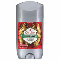 Old Spice Wild Collection Antiperspirant & Deodorant Invisible Solid Bearglove 2.6 oz.(pack of 6)