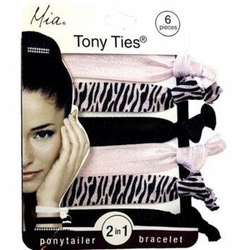 Tony Ties with prints elastics 4.75x3.5x0.5
