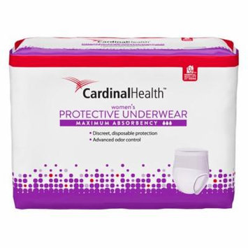 Cardinal Maximum Absorbency Protective Underwear for Women, Medium, 32 - 44