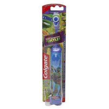 Colgate Kids Teenage Mutant Ninja Turtles Powered Toothbrush, Soft 1.0 ea(pack of 6)