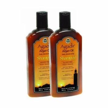 Agadir Argan Oil Daily Moisturizing Shampoo, 12.4 Ounce (Pack of 2)