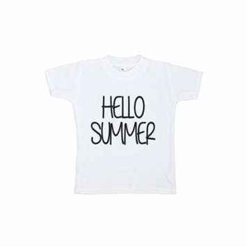 Custom Party Shop Baby's Hello Summer T-shirt - 5
