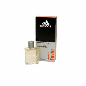 Adidas Sport Fever Aftershave .5 Oz + Old Spice Deadlock Spiking Glue, Travel Size, .84 Oz