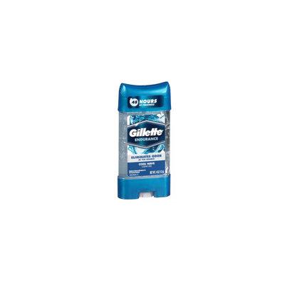 Gillette Anti-Perspirant Deodorant Clear Gel Cool Wave 4.0 oz.(pack of 12)
