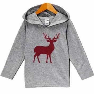 Custom Party Shop Baby's Red Deer Christmas Hoodie - 3T