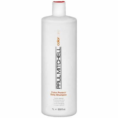 Paul Mitchell Color Protect Daily Shampoo 33.8 oz.(pack of 4)