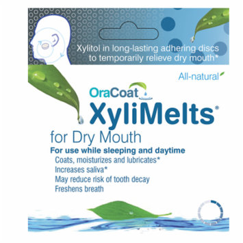 XyliMelts Discs for Dry Mouth Mild Mint 80.0 ea(pack of 6)