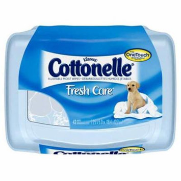 CPC COTTW Cottonelle Flushable Baby Wipes 42 Piece