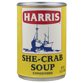 HARRIS SHE-CRAB SOUP - 6/10 OZ CAN