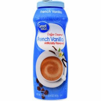 Great Value Coffee Creamer, French Vanilla, 20 oz