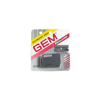 Gem Personna Single Edge Super Stainless Steel Blades With Used Blade Vault - 10 Ea/Pack, 6 Pack