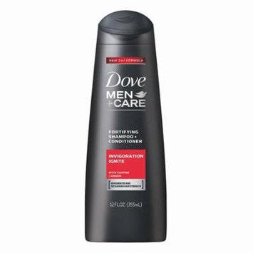 Dove Shampoo and Conditioner Invigoration Ignite 12.0 oz.(pack of 2)