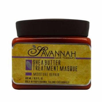 Savannah Hair Therapy Shea Butter Hair Masque 16.9 oz