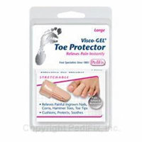 Visco-Gel Toe Protector Small 2 Pack