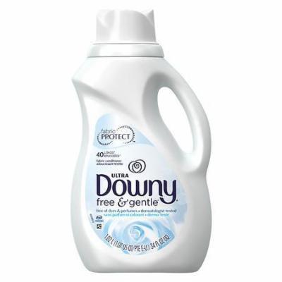Downy Liquid Fabric Softener, Free & Gentle 34.0 fl oz(pack of 4)