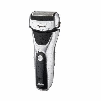 Electric Shaver For Men By JTrim Speed 3 Power Flex & Pivot 3 Blades Wet dry Foil Electric Razor With Sideburns Trimmer