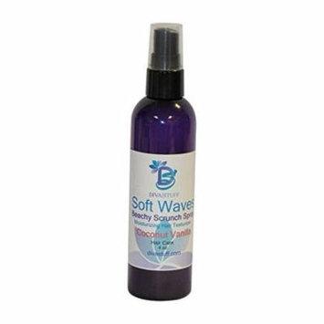 Soft Waves Beachy Scrunch Spray, Moisturizing Hair Texturizer, Coconut Vanilla By Diva Stuff