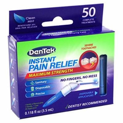 2 Pack - DenTek Adult Instant Pain Relief Kit Maximum Stregnth, 50 Each