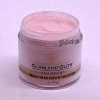 glam glits acrylic powder 1 oz never enough nude ncac396