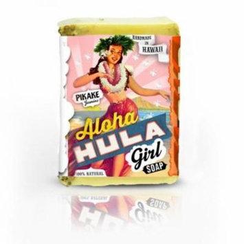 Aloha Hula Girl BAR SOAP Pikake Coconut Shea Butter Jasmine Vanilla NATURAL