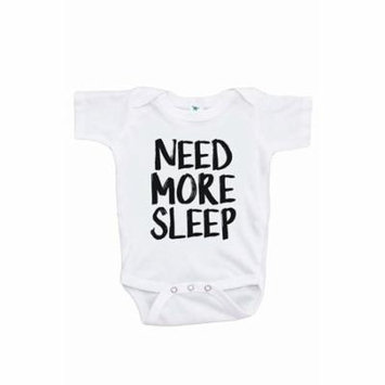 7 ate 9 Apparel Funny Kids Need More Sleep Onepiece - 0-3 Month Onepiece