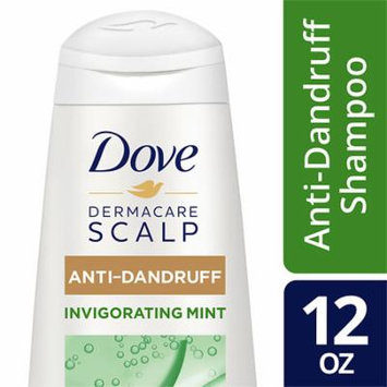 Dove Dermacare Scalp 2in1 Shampoo and Conditioner Invigorating Mint 12.0 oz.(pack of 6)