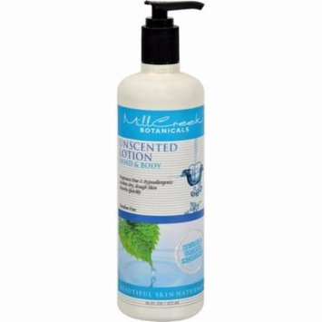 Mill Creek Botanicals Hand And Body Lotion Unscented - 16 Fl Oz