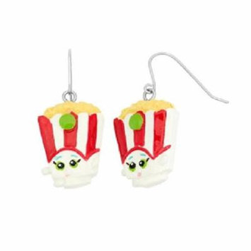 Shopkins Painted Poppy Corn Earrings + Schick Slim Twin ST for Sensitive Skin