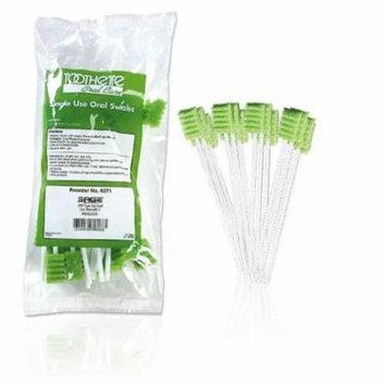 Toothette Plus Oral Swabstick Foam Tip, Sodium Bicarbonate - Pack of 20