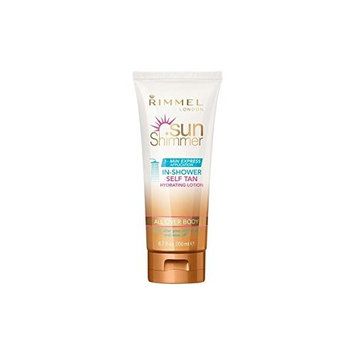 Rimmel Sunshimmer In Shower Self-Tan 200ml (Pack of 4)